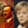 Angela Merkel si  Adolf Hitler